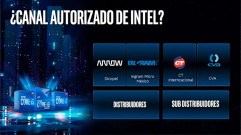 Intel 10a, Canales